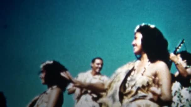 Hawaiian Hula Tänzer