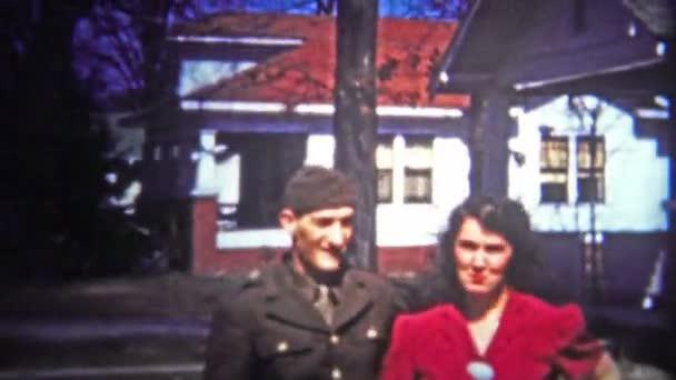 War hero with girl