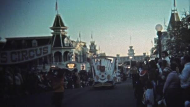 Walt Disney World sunset parade Dumbos Circus