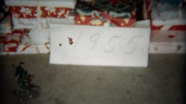 Presents and christmas tree