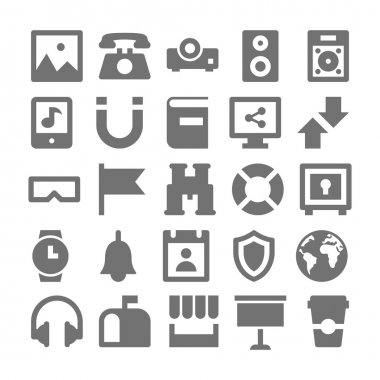 Advertising and Media Vector Icons 4