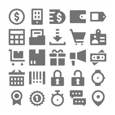 Shopping and Retail Vector Icons 2