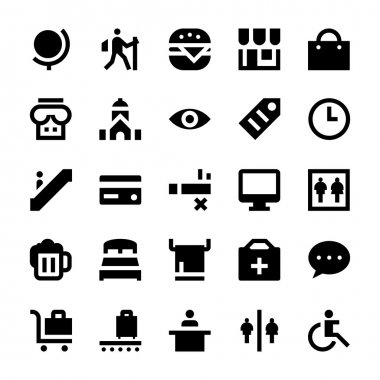 Tourism and Travel Vector Icons 5
