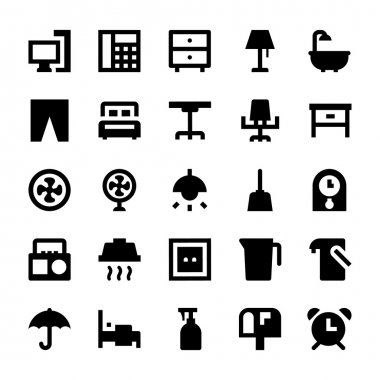 This Home Appliances Icon Pack is absolutely bursting with vector resources that you will love to use for your next technology and electronics related project. icon