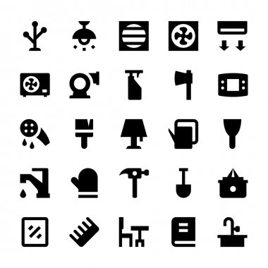 Home Appliances Vector Icons 11
