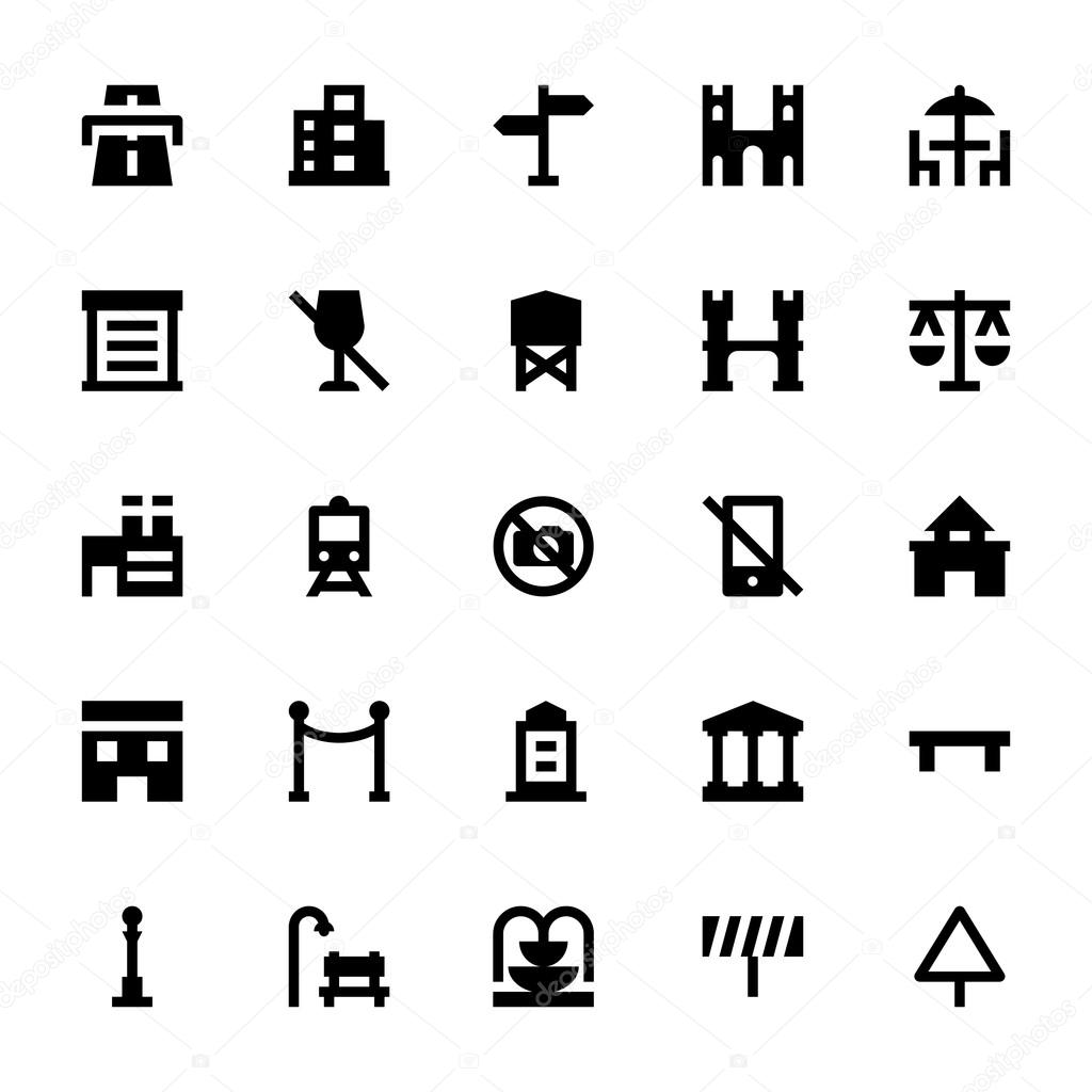 City Elements Vector Icons 5