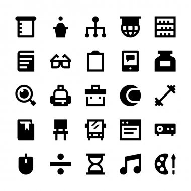 Education and School Vector Icons 6
