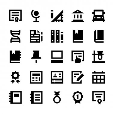 Education and School Vector Icons 9