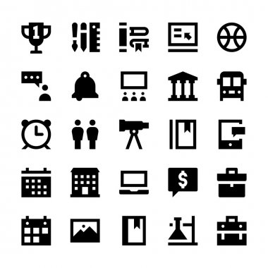 Education and School Vector Icons 10