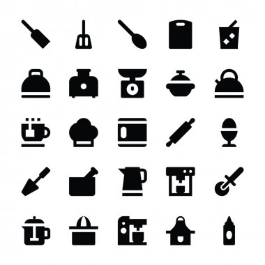 Kitchen Utensils Vector Icons 5