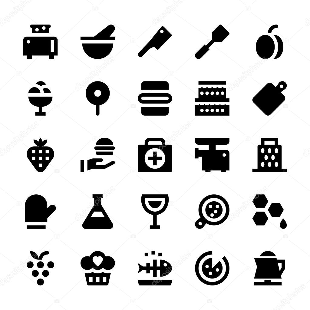 Hotel Services Vector Icons 11 Stock