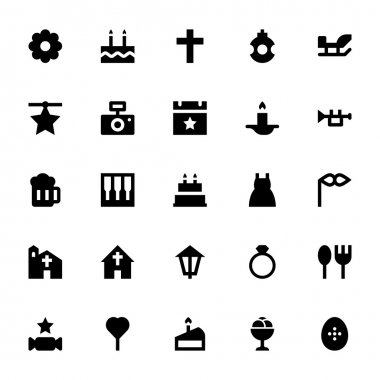 Christmas and Easter Vector Icons 5