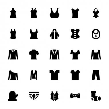 Clothes Vector Icons 5