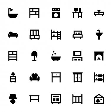 Furniture Vector Icons 5