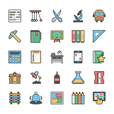 Networking, Web, User Interface and Internet Vector Icons 8
