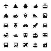 Photo Transportation Vector Icons 2