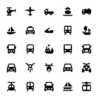 Transportation Vector Icons 1