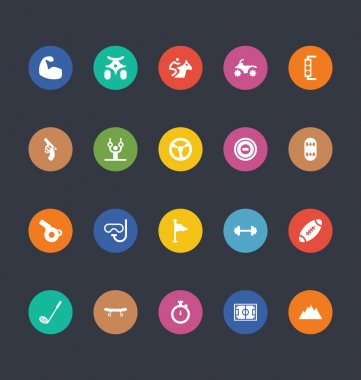 Glyphs Colored Vector Icons 49