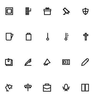Apple Watch Vector Icons 14