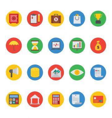 Business and Finance Vector Icons 1