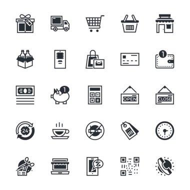 Shopping Vector Icons 1