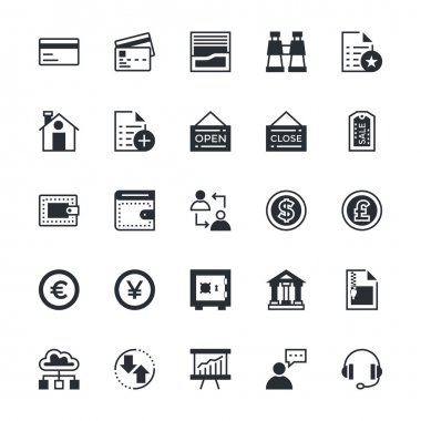 User Interface and Web Colored Vector Icons 6