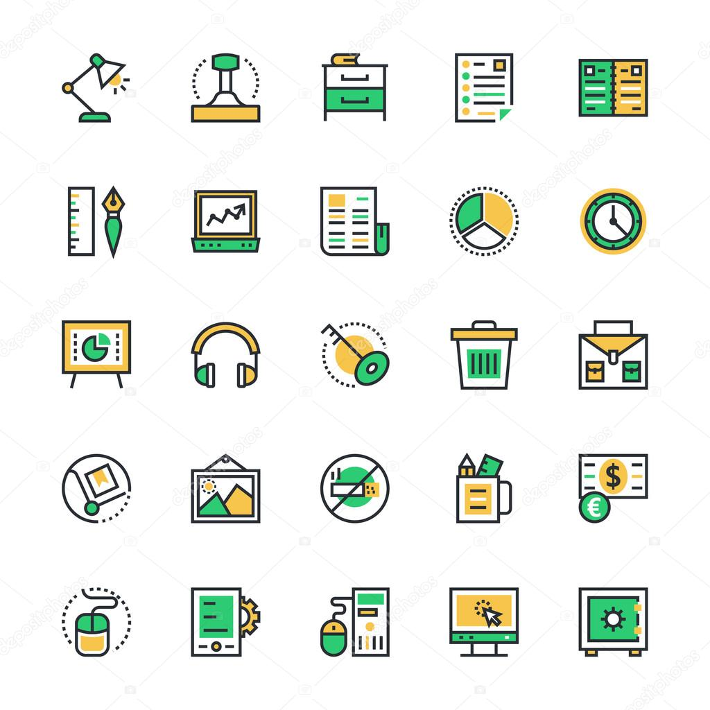 Business & Office Vector Icons 4