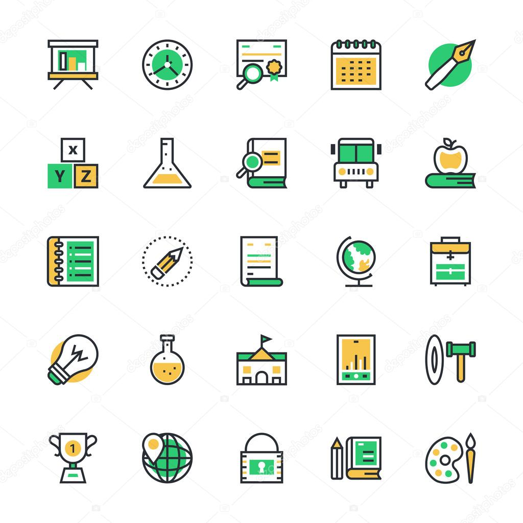 Education Vector Icons 2