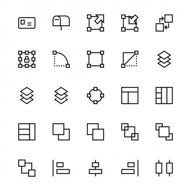 A collection of User Interface Vector Icons that you can easily integrate in your design and the cool thing is, that there are so many of them, you will definitely find something you need in here. stock vector