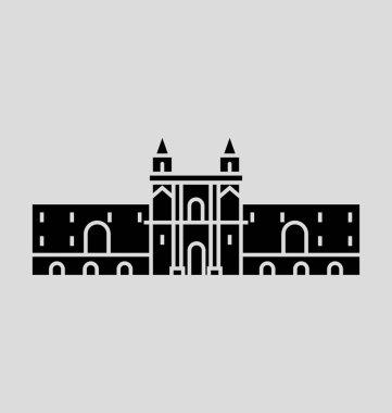 Quito Solid Vector Illustration