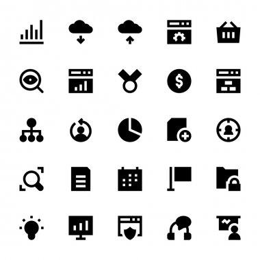 SEO Web Optimization Vector Icons 2