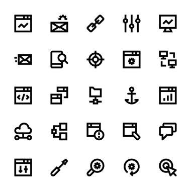 SEO Web Optimization Vector Icons 1