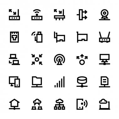 Network Technology Vector Icons 3