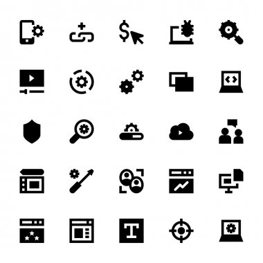 Web Design and Development Vector Icons 2