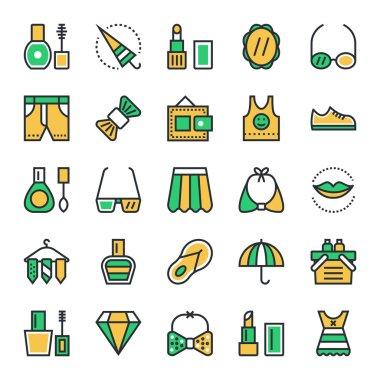Fashion & Beauty Vector Icons 4