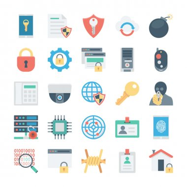 Crime and Security Vector Icons 2