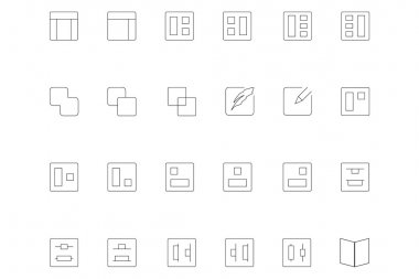 Line icons 3