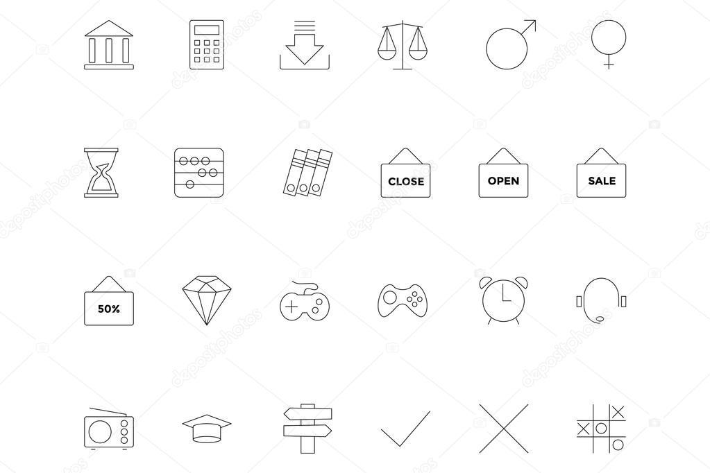 Line icons 11