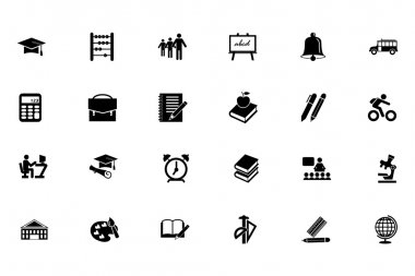 Education Vector Icons 1