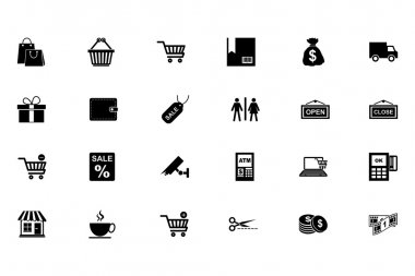 Shopping Vector Icons 1