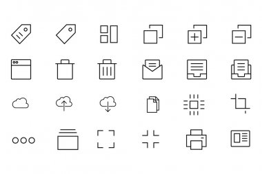 iOS and Android Vector Icons 1