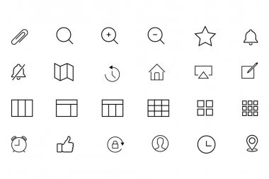 iOS and Android Vector Icons 6