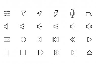 iOS and Android Vector Icons 8