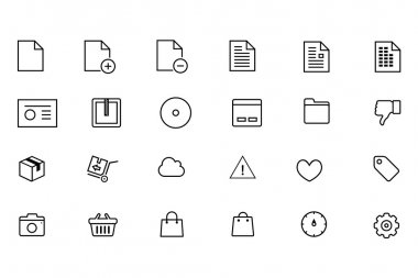iOS and Android Vector Icons 7