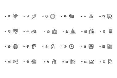 Financial Responsive Vector Icons 2
