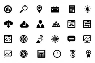 SEO and Marketing Vector Icons 1