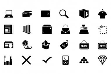 Shopping Vector Icons 4