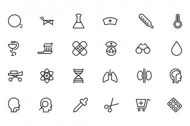 Medical Line Vector Icons 2
