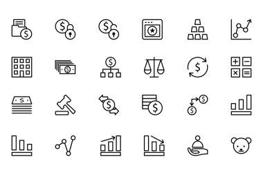 Finance Line Icons 2