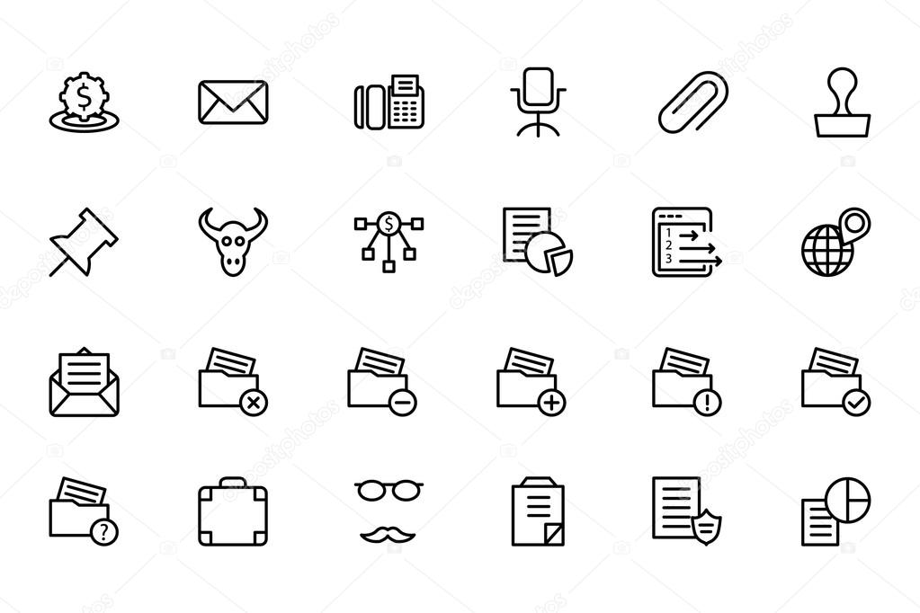 Finance Line Icons 8